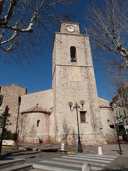 Photo du Monument Historique Eglise Saint-Laurent situé à Ollioules