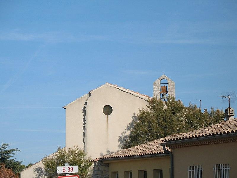 Photo du Monument Historique Eglise situé à Plan-d'Aups-Sainte-Baume