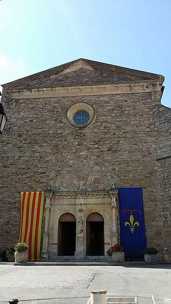 Photo du Monument Historique Eglise paroissiale Saint-Pierre-Saint-Paul situé à Roquebrune-sur-Argens