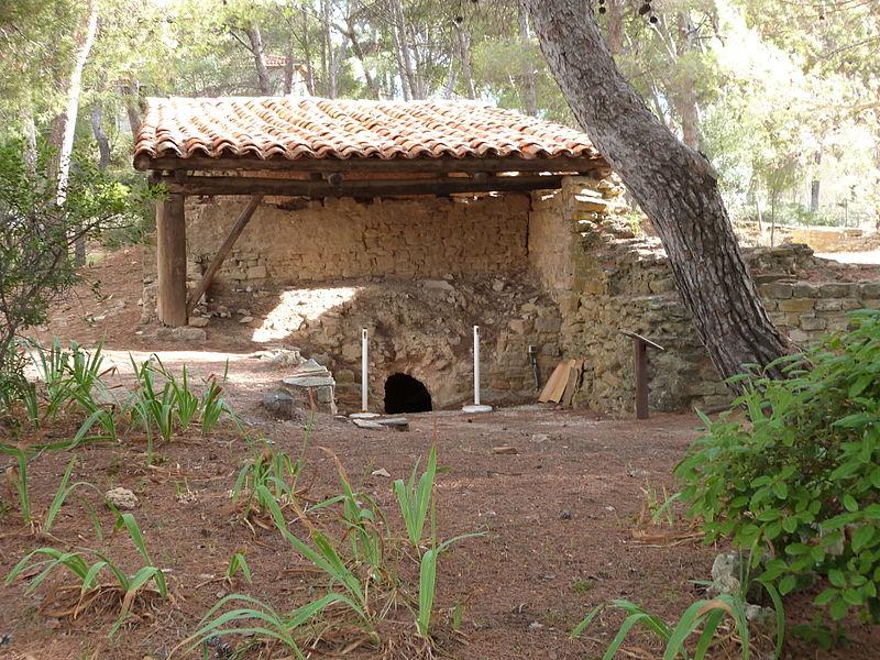 Photo du Monument Historique Vestiges archéologiques situé à Saint-Cyr-sur-Mer
