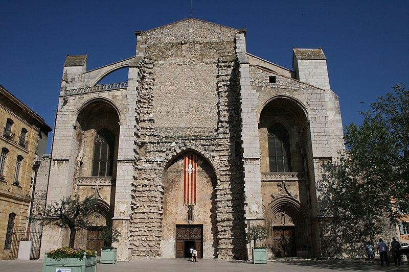 Photo du Monument Historique Basilique Sainte-Marie-Madeleine£ situé à Saint-Maximin-la-Sainte-Baume