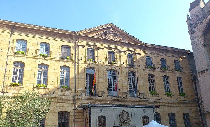 Photo du Monument Historique Hôtel de ville situé à Saint-Maximin-la-Sainte-Baume