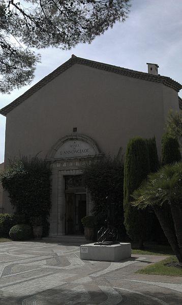 Photo du Monument Historique Chapelle de l'Annonciade situé à Saint-Tropez