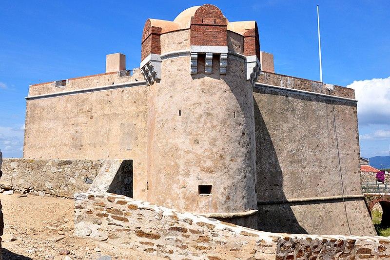 Photo du Monument Historique Citadelle situé à Saint-Tropez