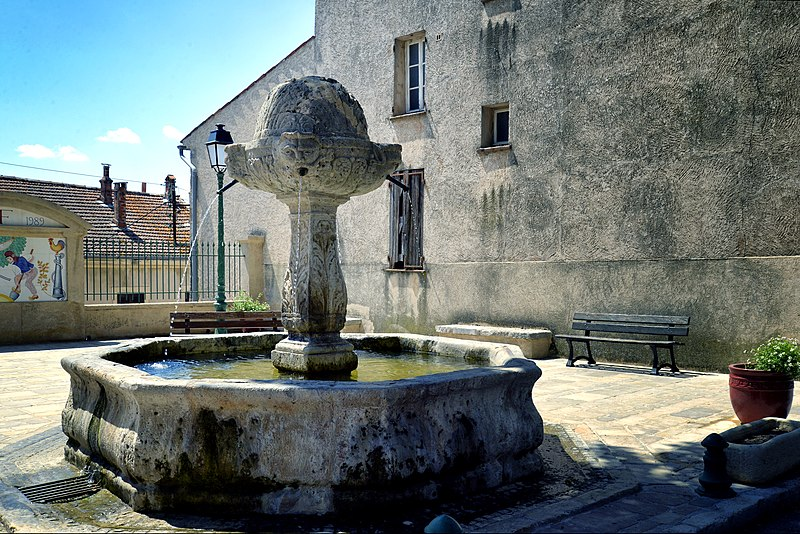 Photo du Monument Historique Fontaine situé à Salernes