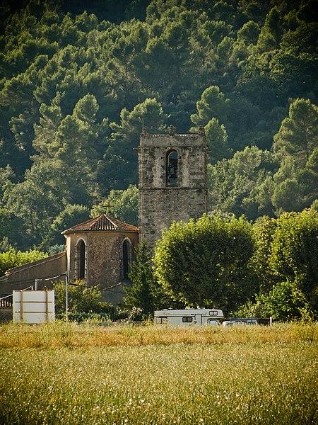 Photo du Monument Historique Eglise situé à Signes