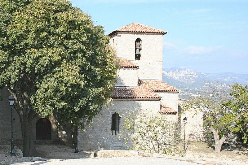 Photo du Monument Historique Eglise Saint-Pierre-aux-Liens situé à Six-Fours-les-Plages