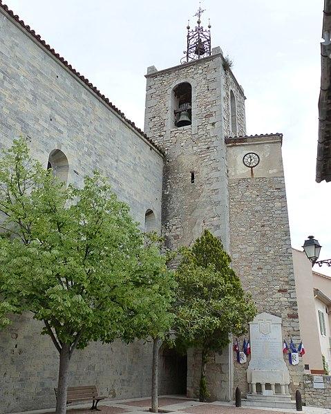 Photo du Monument Historique Eglise Saint-Michel l'Archange situé à Solliès-Ville