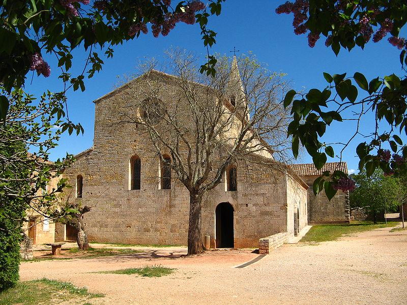 Photo du Monument Historique Ancienne abbaye situé à Le Thoronet
