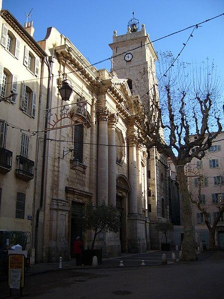 Photo du Monument Historique Cathédrale Sainte-Marie-de-la-Seds situé à Toulon