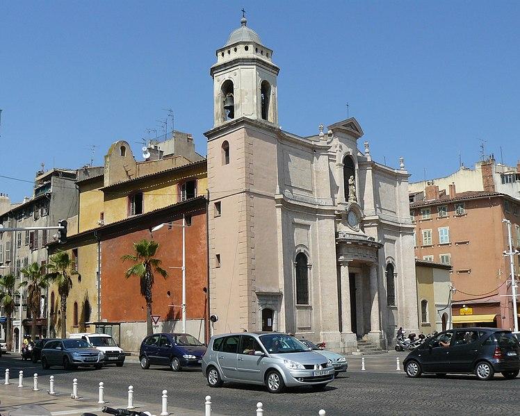 Photo du Monument Historique Eglise Saint-François-de-Paule situé à Toulon