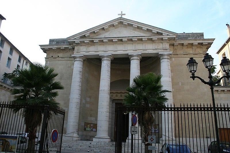 Photo du Monument Historique Eglise Saint-Louis situé à Toulon