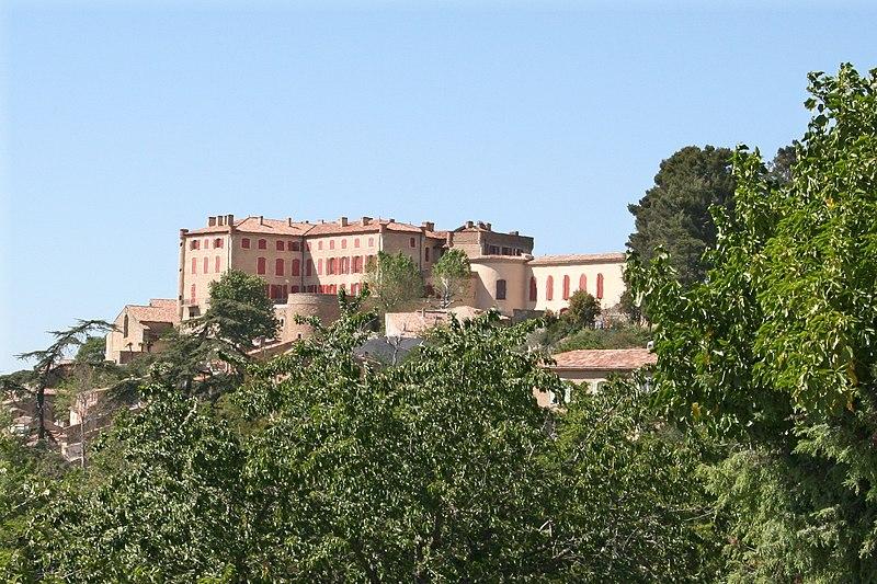Photo du Monument Historique Château et son parc situé à Verdière (La)
