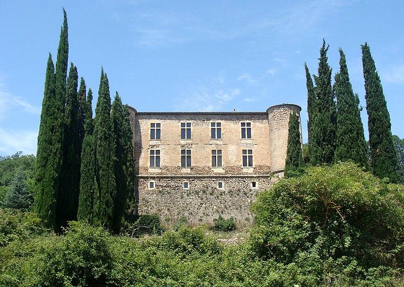 Photo du Monument Historique Château (vestiges) situé à Vins-sur-Caramy