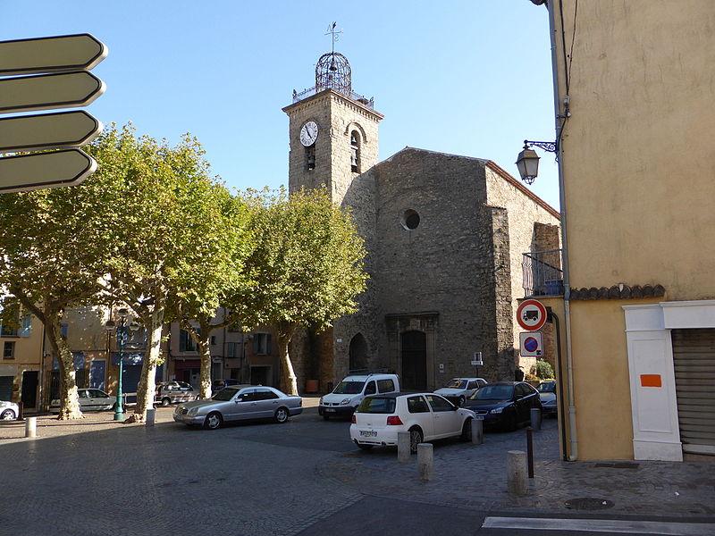 Photo du Monument Historique Eglise paroissiale Saint-Joseph situé à Muy (Le)