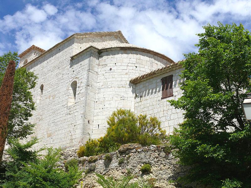 Photo du Monument Historique Eglise paroissiale Saint-Nicolas situé à Bargème