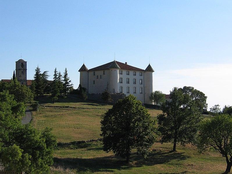Photo du Monument Historique Château situé à Aiguines