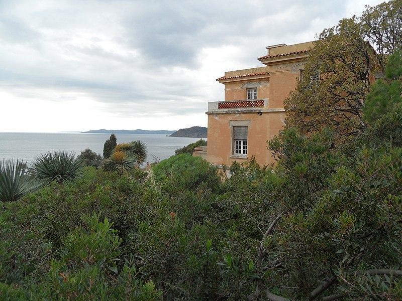 Photo du Monument Historique Domaine du Rayol situé à Rayol-Canadel-sur-Mer