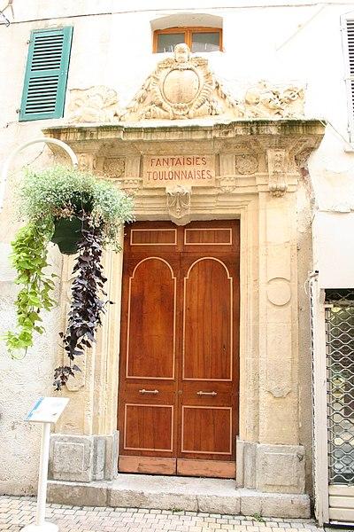 Photo du Monument Historique Ancienne Comédie situé à Toulon