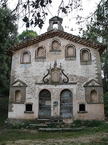 Photo du Monument Historique Chapelle Notre-Dame de Pitié situé à Val (Le)