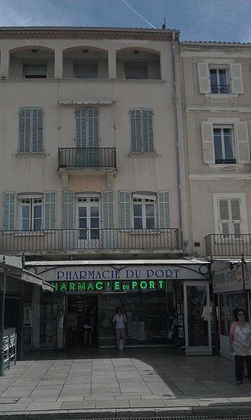 Photo du Monument Historique Maison dite du Corsaire situé à Saint-Tropez