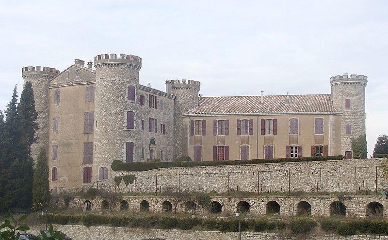 Photo du Monument Historique Château situé à Saint-Martin