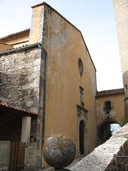 Photo du Monument Historique Eglise paroissiale Saint-Martin situé à Saint-Martin