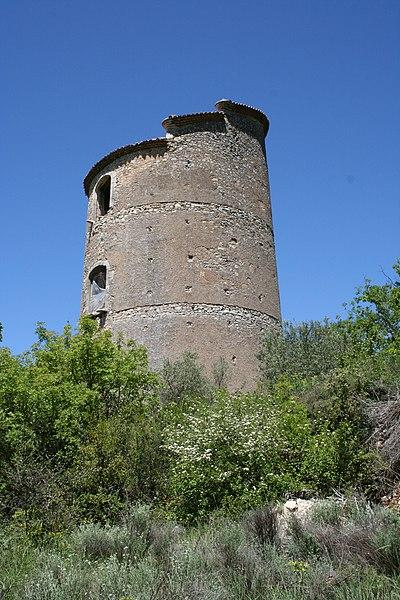 Photo du Monument Historique Pigeonnier de Roux de Corse situé à Brue-Auriac