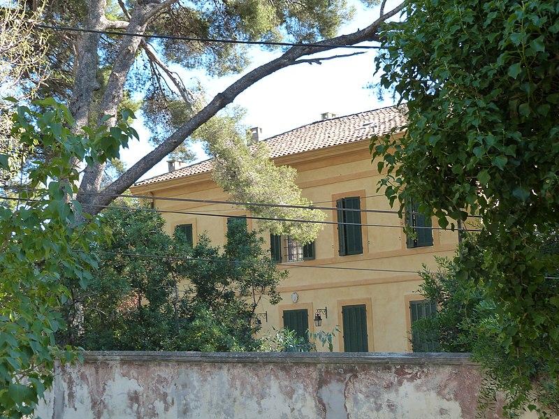 Photo du Monument Historique Villa Cécile situé à Six-Fours-les-Plages