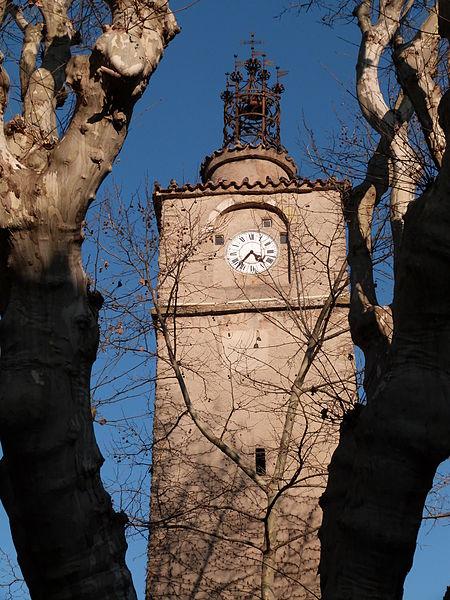 Photo du Monument Historique Tour de l'Horloge situé à La Roquebrussanne
