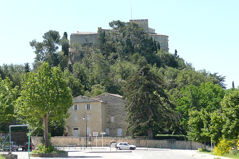 Photo du Monument Historique Château et son parc situé à Ansouis