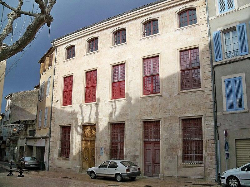Photo du Monument Historique Hôtel d'Albertas, dit aussi d'Anne d'Autriche situé à Apt