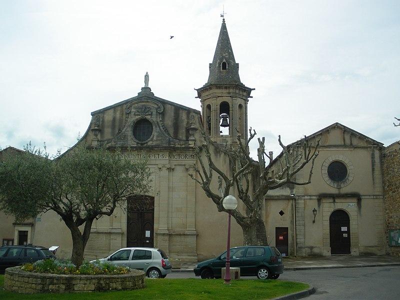 Photo du Monument Historique Eglise situé à Aubignan