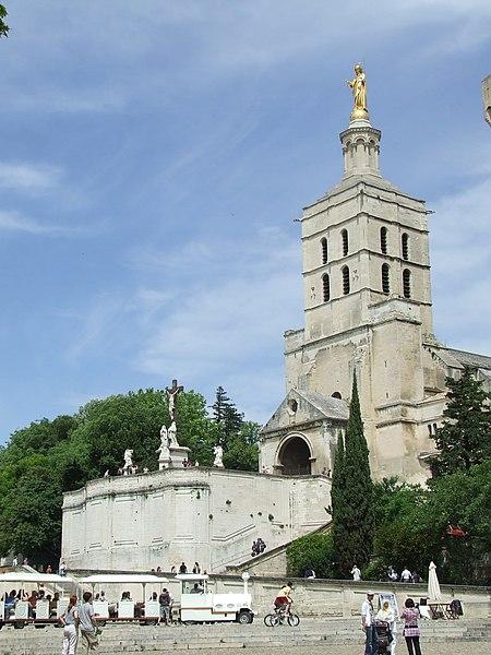 Photo du Monument Historique Cathédrale Notre-Dame-des-Doms situé à Avignon