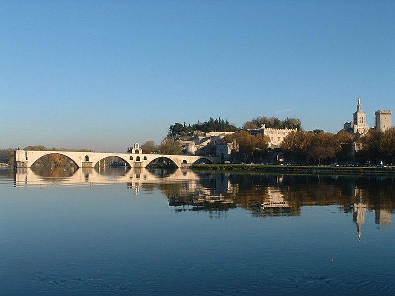 Photo du Monument Historique Chapelle et pont Saint-Bénézet situé à Avignon
