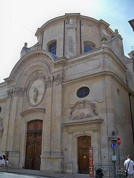 Photo du Monument Historique Chapelle de l'Oratoire situé à Avignon