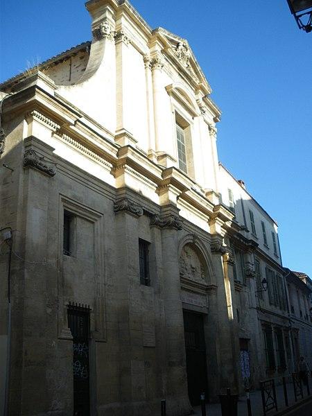 Photo du Monument Historique Chapelle du Verbe Incarné situé à Avignon