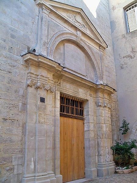 Photo du Monument Historique Ancienne chapelle Notre-Dame des Fours et ancien collège Saint-Nicolas d'Annecy, dit également collège des Savoyards ou Grand Collège situé à Avignon