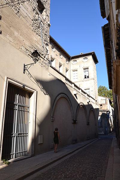 Photo du Monument Historique Couvent de Sainte-Praxède situé à Avignon