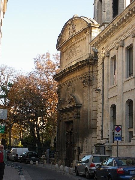 Photo du Monument Historique Eglise Saint-Martial, devenue Temple Protestant situé à Avignon