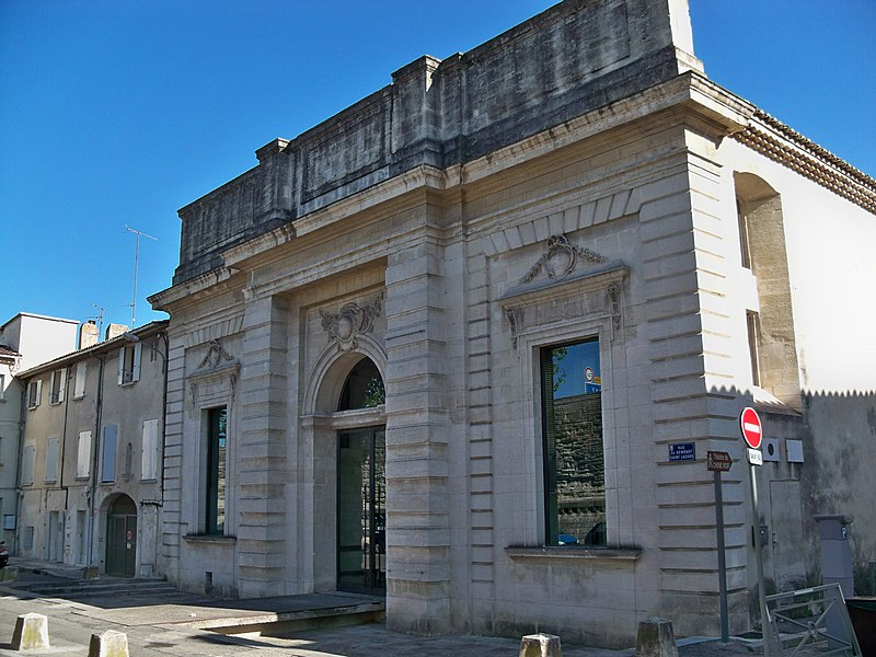 Photo du Monument Historique Grenier à sel situé à Avignon