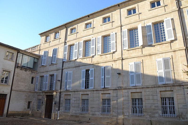Photo du Monument Historique Hôtel Armand, dit aussi Hôtel Pagezy situé à Avignon