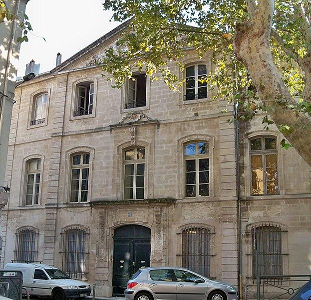 Photo du Monument Historique Hôtel de la Bastide situé à Avignon