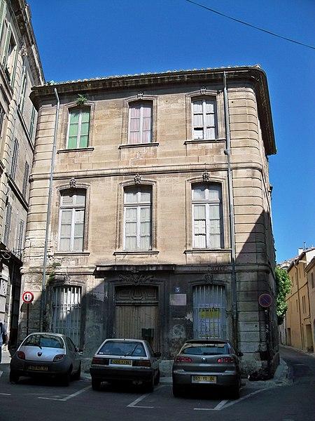 Photo du Monument Historique Hôtel de Blanchetti situé à Avignon