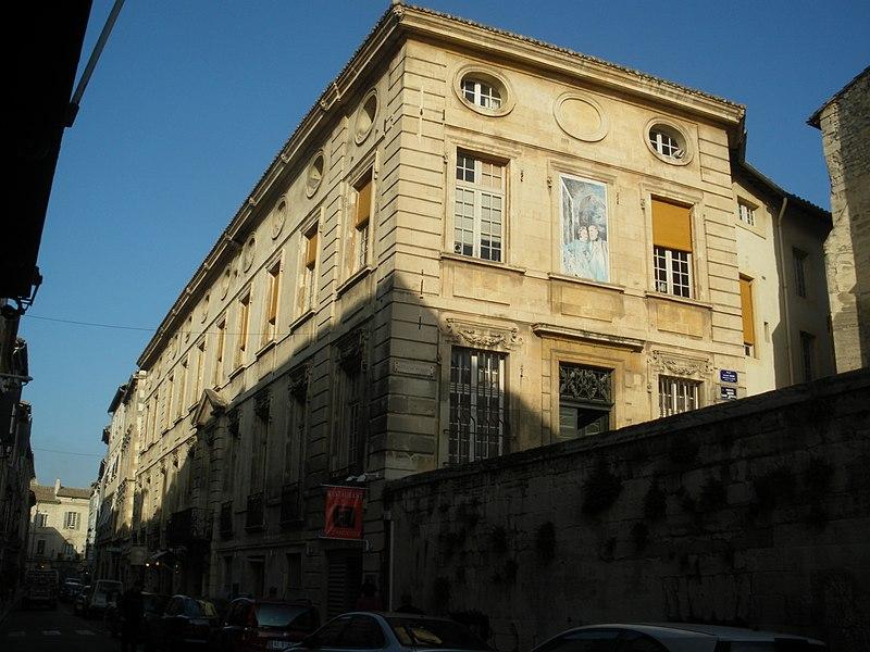 Photo du Monument Historique Hôtel de Brantes situé à Avignon