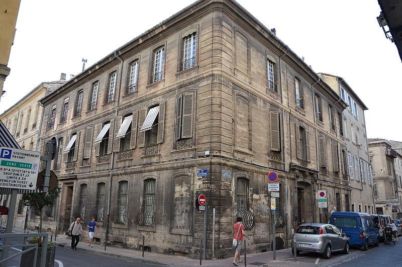 Photo du Monument Historique Hôtel de Chanciergues situé à Avignon