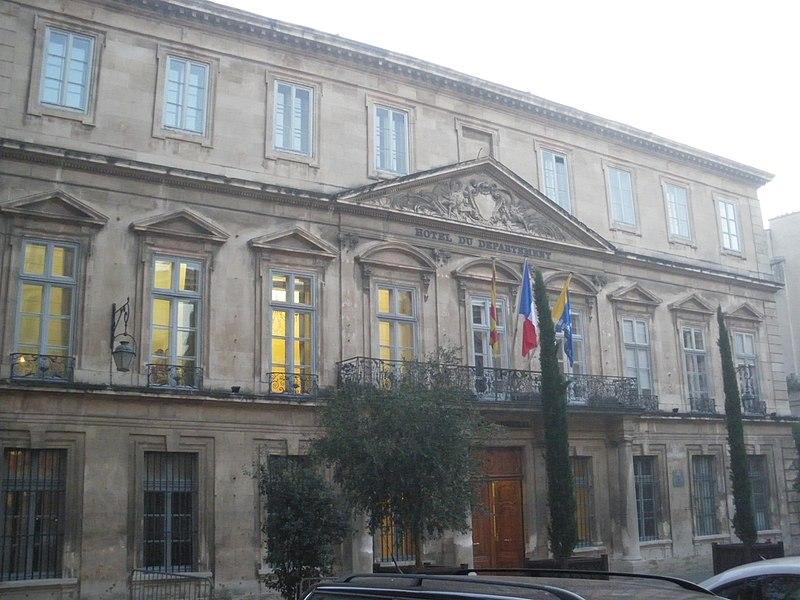 Photo du Monument Historique Hôtel des Mares de Montdevergues situé à Avignon