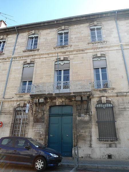 Photo du Monument Historique Hôtel de l'Espine situé à Avignon