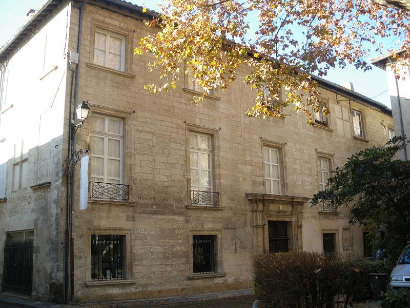 Photo du Monument Historique Hôtel du Laurens situé à Avignon