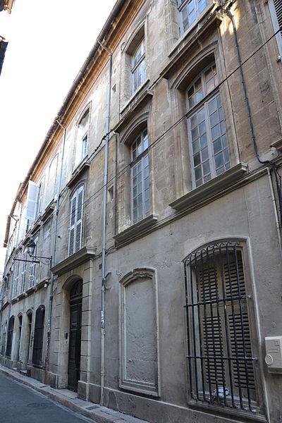 Photo du Monument Historique Hôtel Le Gras situé à Avignon